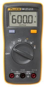 FLUKE 106, PALM-SIZED DIGITAL MULTIMETER