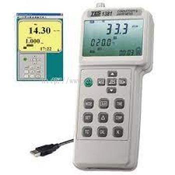 TES-1381K Conductivity & pH/ORP Meter Tes Supplier
