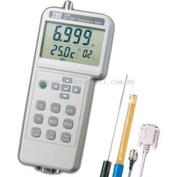 TES-1380K PH/ORP/Temperature Meter Tes Supplier