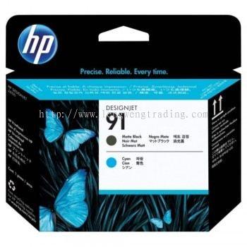 HP 91 DesignJet Printhead - Matte Black/Cyan (C9460A)