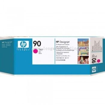 HP 90 DesignJet Printhead/Printhead Cleaner - Magenta (C5056A)