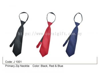 Primary Zip Necktie