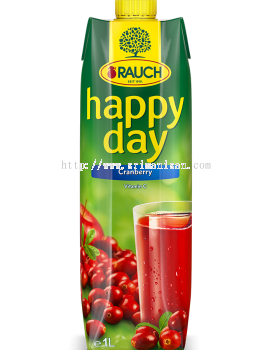Happy Day Cranberry Juice 1L