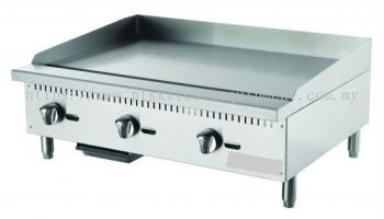 GAS GRIDDLE TABLE TOP 2ft