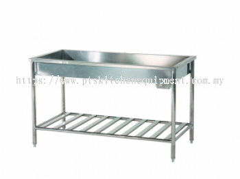 s/s big washing table
