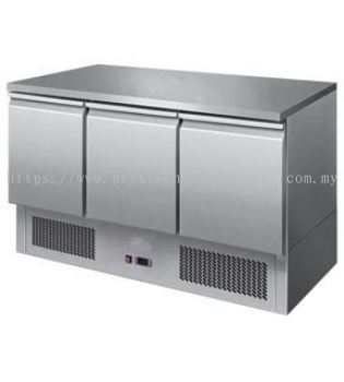 3 DOOR COUNTER CHILLER-COMPRESSOR RHS
