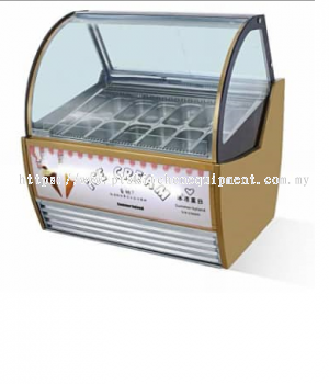 NEW PRODUCT :ICE CREAM FREEZER HIGH QUALITY (GOLD COLOUR)