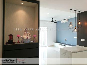 Altar & Living Room + Bar