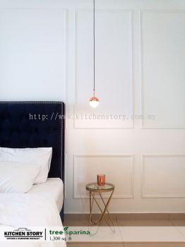 Master Bedroom Wall Paneling