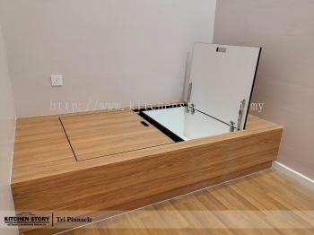 Bed Platform with Storage Function