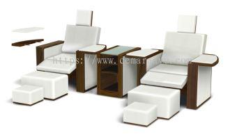 F 029 & F 029a Manicure Pedicure Sofa