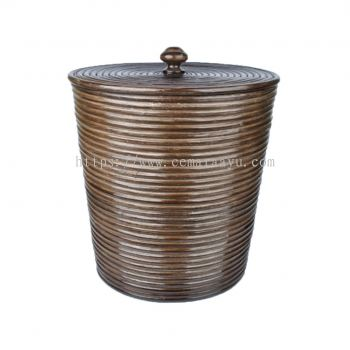 Rattan Core round with cover