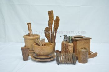 Natural Coconut Wood Range