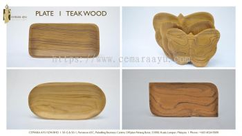 Plate - Teak Wood