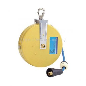 GISON 5MM ID X 7.5M AUTO REWINDER AIR HOSE REEL, GP-HR01-U5075