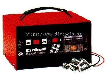EINHELL 8A 6-12V  230V BATTERY CHARGER - MIN.20AH-MAX.120AH  WT: 6.0KG, BC-AFNM8
