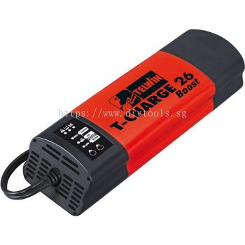 TELWIN 16A 12V COMPACT AUTO BATTERY CHARGER (10-250AH) 230V, T-Charge 26 BOOST