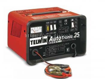 TELWIN AUTOMATIC BATTERY CHARGER 18A 300W 12-24V 230V 50/60HZ  (30-225AH-12V) (20-180AH-24V) AUTOTRONIC 25 BOOST