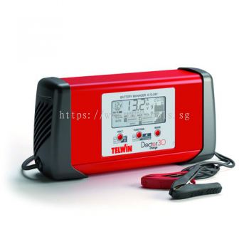 TELWIN INTELLIGENT BATTERY MANAGER 25A 6-12-24V 350W 230V AUTO BATTERY CHARGER / TEST/ RECOVERY, DOCTOR CHARGE 30