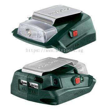 METABO CORDLESS POWER ADAPTER, PA14.4-18 LED-USB