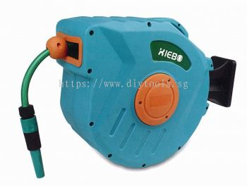 XIEBO RETRACTABLE (PVC) WATER HOSE WITH REEL, XBW-02-15M