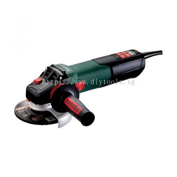 "METABO 5"" 1550 WATT ANGLE GRINDER FOR STAINLESS STEEL PROCESSING, WEV 15-125 Quick Inox"
