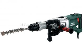 METABO 50MM CONCRETE COMBINATION HAMMER DRILL & CHISEL FUNCTIONS 1700W 1950/MIN IMPACT 230V SDS-MAX, KHE 96