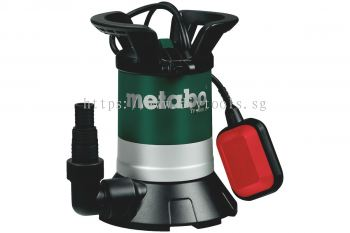 METABO SUBMERSIBLE  PUMP F.CLEAR WATER, 350W, 8000LITRE/H, DEPTH 5M, DELIVER HEIGHT: 7M, TP 8000 S