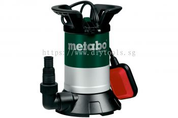 METABO SUBMERSIBLE  PUMP F.CLEAR WATER,550W, 13000LITRE/H, DEPTH: 5M,0.95BAR, M.HT: 9.5M, TP 13000 S
