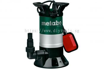METABO SUBMERSIBLE SEWAGE  PUMP, 850WATT, 15000LITRE/H, DELIVERY HT 9.5M, O.95 BAR, PS 15000