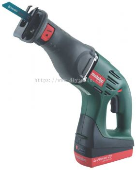 METABO CORDLESS VARIABLE SPEED RECIPROCATING SAW 18V 0-2700/MIN 30MM STROKE C/W CARRYING CASE, ASE 18