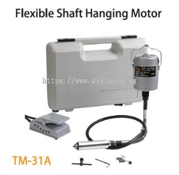 TMT FLEXIBLE SHAFT (92.5CM) HANGING MOTOR 120W 230V 50HZ 20,000RPM  WITH TOOL & CASING SET, TM-31A