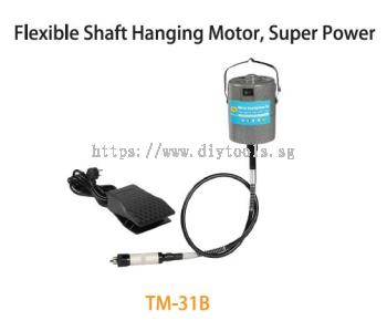 TMT FLEXIBLE SHAFT (92.5CM) HANGING MOTOR 120W 230V 50HZ20,000RPM  WITH TOOL & CASING SET, TM-31B