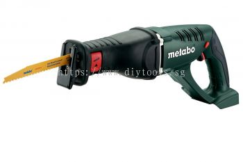 METABO CORDLESS VARIABLE SPEED RECIPROCATING SAW 18V 0-2700/MIN 30MM STROKE C/W CARRYING CASE, ASE 1