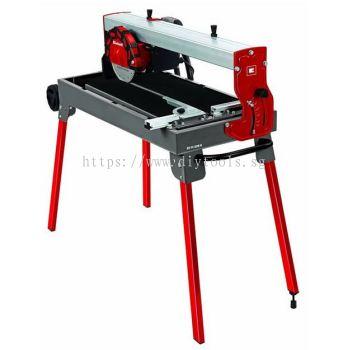 "EINHELL 8"" TILE CUTTING MACHINE - 900W 230V (WORKING TABLE SIZE:610X325MM), TC620U"