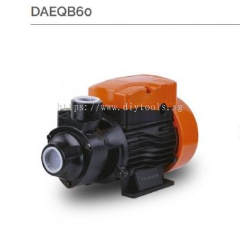 "DAEWOO 1"" ELECTRIC WATER PUMP 370W 230V, DAEQB60"