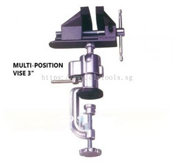 OCTOPUS VICE WITH CLAMP - 75MM JAW-WIDTH & 50MM OPENING