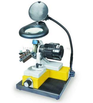 KAINDL 1-20MM ENDMILLS & DRILL BIT SHARPENING M/C, BSM20- 230V WITH OPTICALS LENS WHEEL, GERMANY