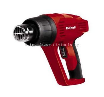 EINHELL HOT AIR GUN 230V 2000W 350 OR 550 DEGREE C, AIR FLOW: 300L OR 500L/MIN, MODEL: TC-HA2000/1