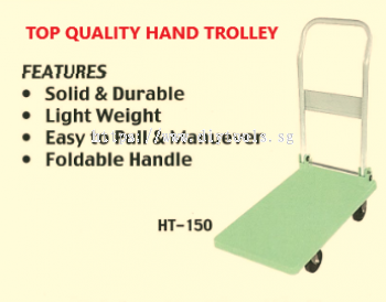 """""""OIC"""" 150KG HAND TROLLEY PLATFORM SIZE: 400MM X 700MM, MODEL HT150 (MADE IN MALAYSIA)."""
