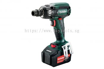 """METABO CORDLESS IMPACT WRENCH WITH BRUSHLESS MOTOR, 2150 RPM, 400NM TORQUE, 1/2"""" RETAINER"""