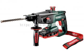 METABO SDS PLUS 18V LIHD BATT- LONG USAGE LIFE CORDLESS ROTARY HAMMER STEEL-13MM /CONCRETE-24MM MODE