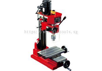 SIEG 10MM DRILLING/ MILLING MACHINE 150W 230V W. XY TABLE SIZE:400X145MM C/W STD ACC SX1L