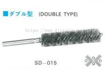 NISHIKI SPRAL SHANK BRUSH 15MM X 50MM, MODEL: SD15