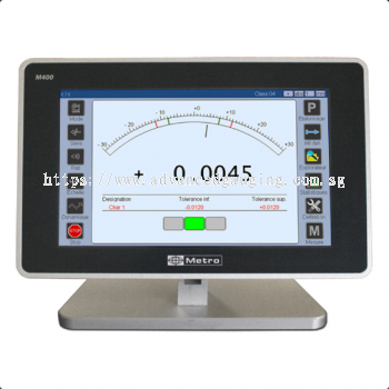 M400 - Dgital Readout for Gauging Probes