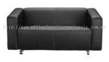 Alpha double seater office sofa (AIM033-2)