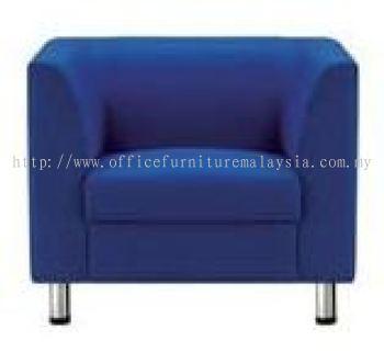 Blue Colour Fabric Sofa (AIM025-1)
