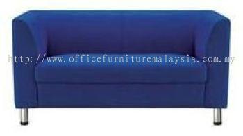 Blue Colour 2 Seat Fabric Sofa (AIM025-2)