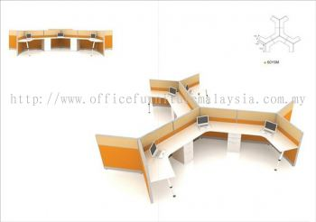 Open Style Office Block System (AIM-Block-System-Y9M)