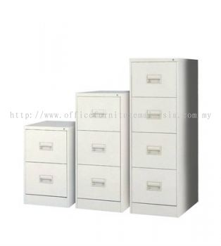 Filing Drawer Steel Cabinet with Recess Handle and Lock